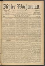 Ischler Wochenblatt 19060805 Seite: 1
