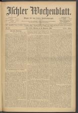 Ischler Wochenblatt 19060916 Seite: 1