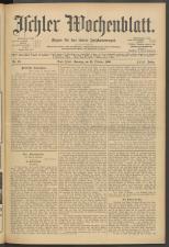 Ischler Wochenblatt 19061021 Seite: 1