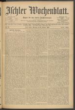 Ischler Wochenblatt 19061028 Seite: 1