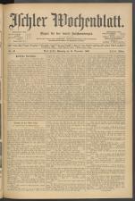 Ischler Wochenblatt 19061118 Seite: 1