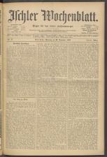 Ischler Wochenblatt 19061125 Seite: 1