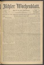 Ischler Wochenblatt 19061208 Seite: 1