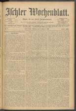 Ischler Wochenblatt 19070217 Seite: 1
