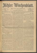 Ischler Wochenblatt 19070414 Seite: 1