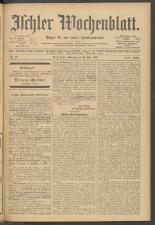 Ischler Wochenblatt 19070512 Seite: 1
