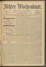 Ischler Wochenblatt 19070519 Seite: 1