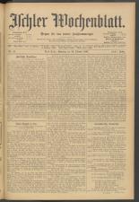 Ischler Wochenblatt 19071013 Seite: 1