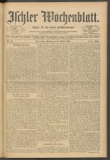 Ischler Wochenblatt 19071027 Seite: 1