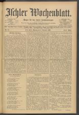 Ischler Wochenblatt 19071103 Seite: 1