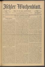 Ischler Wochenblatt 19071110 Seite: 1
