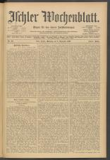 Ischler Wochenblatt 19071208 Seite: 1