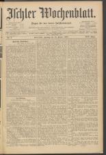 Ischler Wochenblatt 19080112 Seite: 1