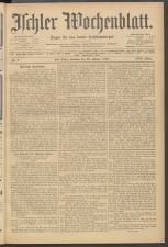 Ischler Wochenblatt 19080126 Seite: 1