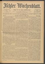Ischler Wochenblatt 19080510 Seite: 1