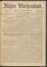 Ischler Wochenblatt 19080517 Seite: 1