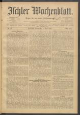 Ischler Wochenblatt 19080614 Seite: 1