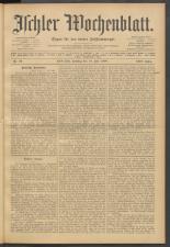 Ischler Wochenblatt 19080719 Seite: 1