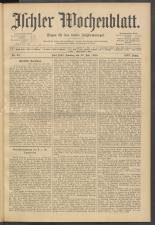 Ischler Wochenblatt 19080726 Seite: 1