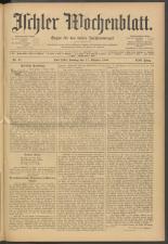 Ischler Wochenblatt 19081011 Seite: 1
