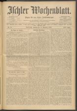 Ischler Wochenblatt 19081213 Seite: 1