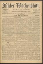 Ischler Wochenblatt 19090214 Seite: 1