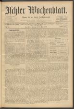 Ischler Wochenblatt 19090502 Seite: 1