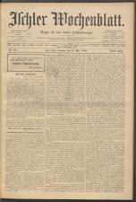 Ischler Wochenblatt 19090530 Seite: 1