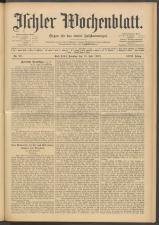 Ischler Wochenblatt 19090718 Seite: 1