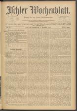 Ischler Wochenblatt 19091219 Seite: 1