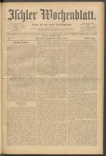 Ischler Wochenblatt 19100403 Seite: 1