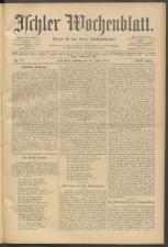 Ischler Wochenblatt 19100424 Seite: 1