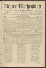 Ischler Wochenblatt 19100821 Seite: 1