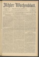 Ischler Wochenblatt 19101106 Seite: 1