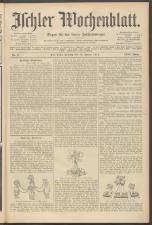 Ischler Wochenblatt 19110115 Seite: 1
