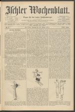 Ischler Wochenblatt 19110122 Seite: 1