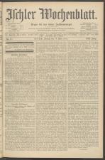 Ischler Wochenblatt 19110319 Seite: 1