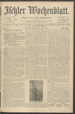 Ischler Wochenblatt 19110402 Seite: 1