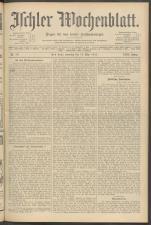 Ischler Wochenblatt 19110514 Seite: 1