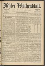 Ischler Wochenblatt 19110618 Seite: 1