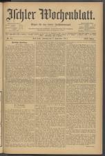 Ischler Wochenblatt 19110903 Seite: 1