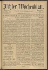 Ischler Wochenblatt 19111105 Seite: 1