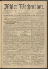 Ischler Wochenblatt 19111231 Seite: 1