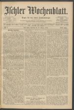 Ischler Wochenblatt 19120128 Seite: 1