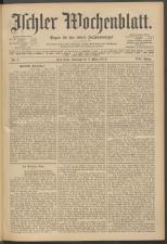 Ischler Wochenblatt 19120303 Seite: 1