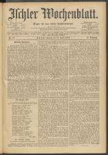 Ischler Wochenblatt 19120428 Seite: 1