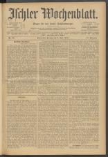 Ischler Wochenblatt 19120609 Seite: 1