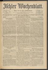 Ischler Wochenblatt 19120616 Seite: 1