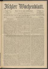 Ischler Wochenblatt 19121013 Seite: 1