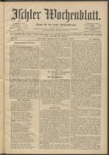 Ischler Wochenblatt 19121229 Seite: 1